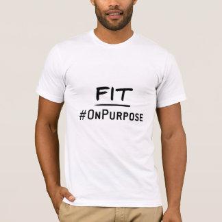 Fit #OnPurpose Men's American Apparel T-Shirt