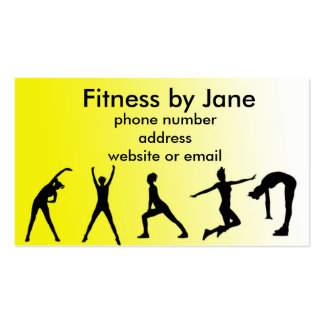 fit yellow Double-Sided standard business cards (Pack of 100)