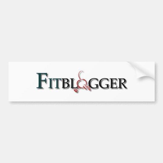 Fitblogger Logo Bumper Sticker