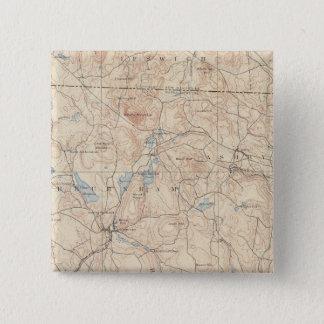 Fitchburg, Massachusetts 15 Cm Square Badge