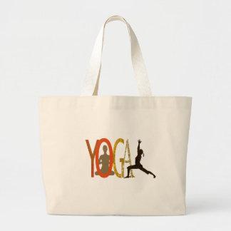 Fitness Athletic Yoga Instructor Jumbo Tote Bag