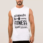 Fitness Bodybuilding Personal Trainer Workout Sleeveless Shirt