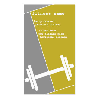 Fitness Business Card and VIP Pass