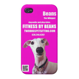 Fitness by Beans iPhone 4 case pink