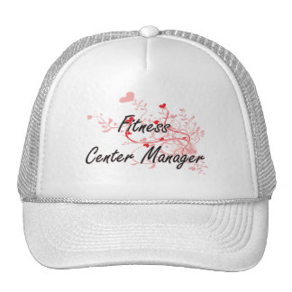 Fitness Center Manager Artistic Job Design with He Cap
