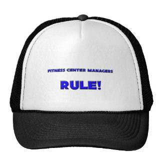 Fitness Center Managers Rule! Hat