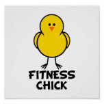 Fitness Chick Poster