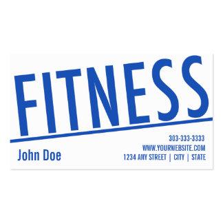 Fitness Class Business Card 5 Class Pass Card