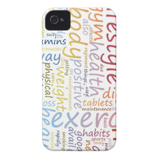 Fitness Concept for Weight Loss and Health iPhone 4 Cover