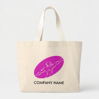 Fitness Customizable Bag - Magenta