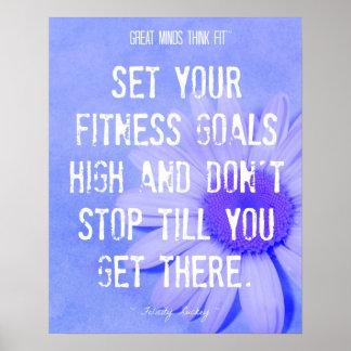 Fitness Daisy Poster 001