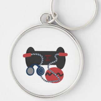 Fitness Devices Key Chain