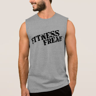 Fitness Freak Avoid Men's Workout Sleeveless Sleeveless T-shirt