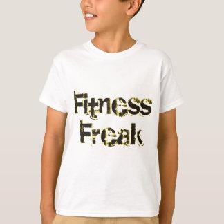 Fitness Freak - Black & Gold Tees