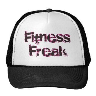 Fitness Freak - Black/Pink Trucker Hats