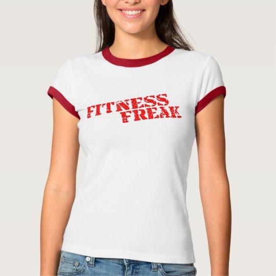 Fitness Freak Ladies Ringer T-Shirt Juggernaut