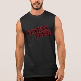 Fitness Freak Men's Red Ultra Sleeveless T-Shirt