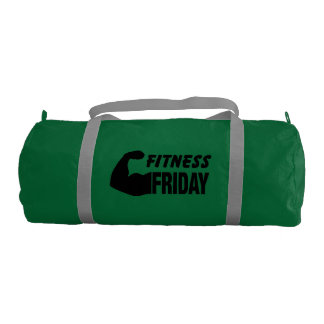 Fitness Friday - Motivational Gym Bag Gym Duffel Bag