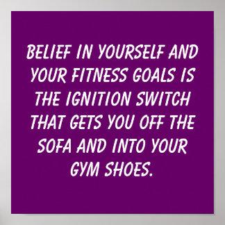 Fitness Goals Print
