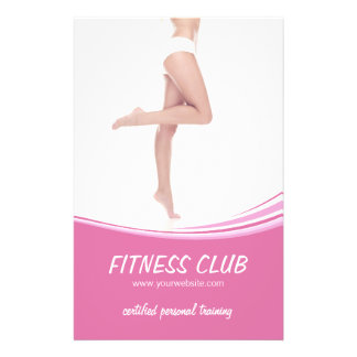 Fitness Gym Beauty Salon flyer