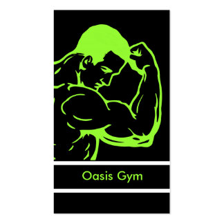 Fitness Gym Business Cards