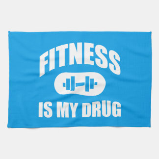 Fitness Is My Drug - Gym Workout Motivational Towels