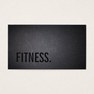 Fitness Modern Bold Text Elegant Dark Professional
