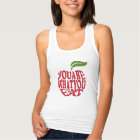Fitness motivational quote tank top