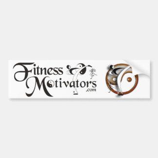 Fitness Motivators Bumper Sticker Car Bumper Sticker
