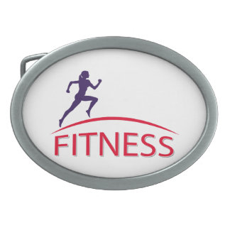 Fitness Oval Belt Buckles