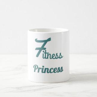 Fitness Princess coffee mug