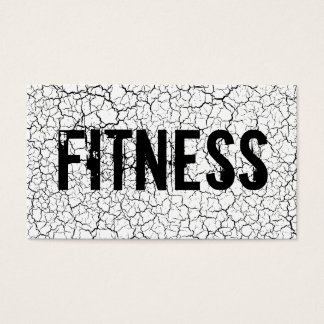 Fitness Trainer Bodybuilding Cracked Texture