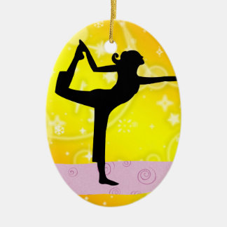 Fitness! Yoga - SRF Christmas Ornament