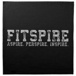 Fitspire - Aspire, Perspire,  Inspire - Workout Napkin