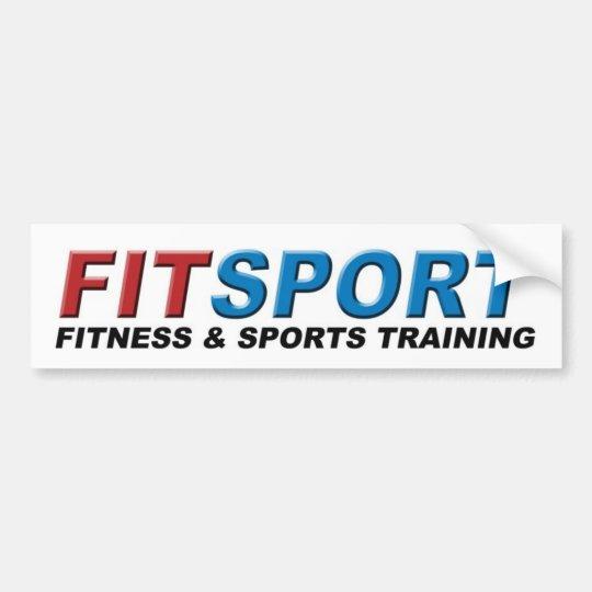 Fitsport Fitness & Sports Training Bumper Sticker