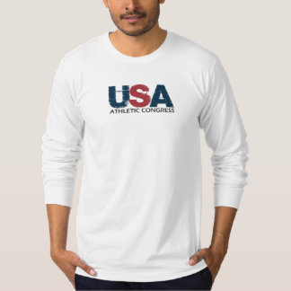 Fitted Long Sleeve USAAC T-Shirt