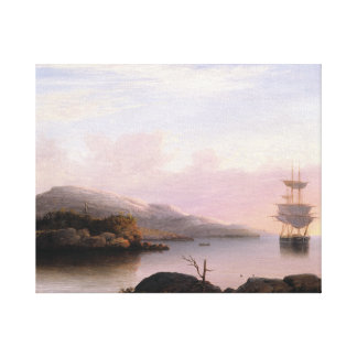 Fitz Henry Lane - Off Mount Desert Island Canvas Print