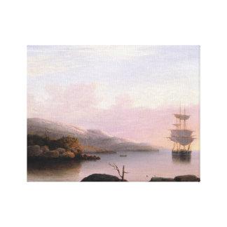 Fitz Henry Lane - Off Mount Desert Island Gallery Wrap Canvas