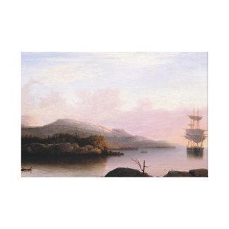 Fitz Henry Lane - Off Mount Desert Island Stretched Canvas Prints