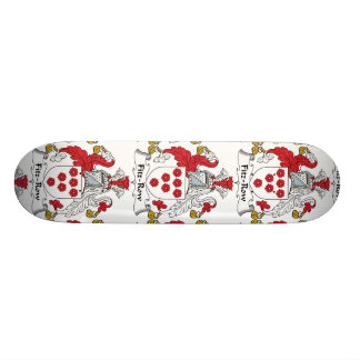 Fitz-Row Family Crest Skateboard Deck