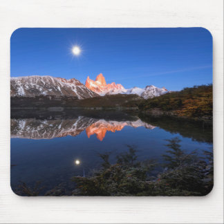 Fitz Roy'S Reflection Mouse Mat