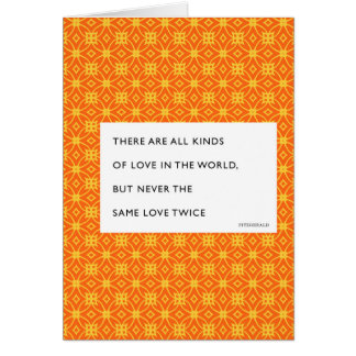 Fitzgerald All Kinds of Love Valentine Greeting Card