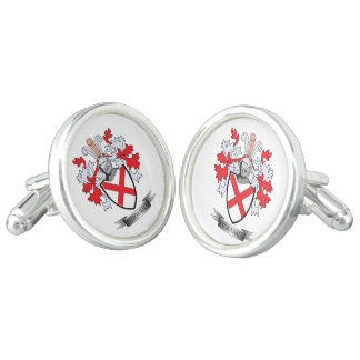 Fitzgerald Coat of Arms Cuff Links