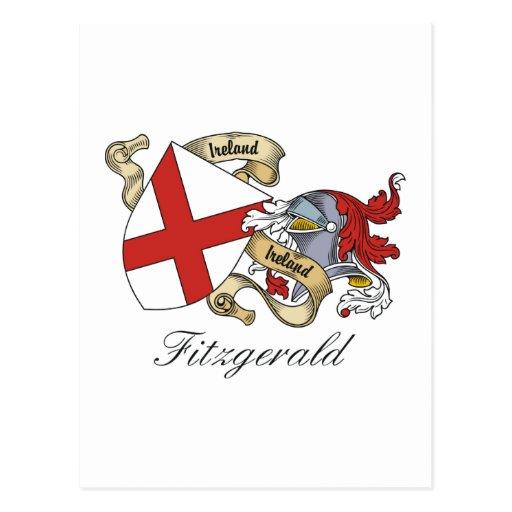 Fitzgerald Family Crest Postcard