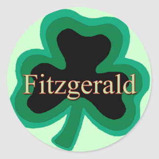 Fitzgerald Family Classic Round Sticker