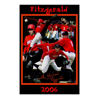 Fitzgerald Freshman Baseball Poster