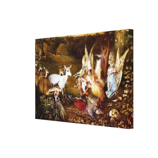 "Fitzgerald's ""The Enchanted Forest"" Canvas Print"