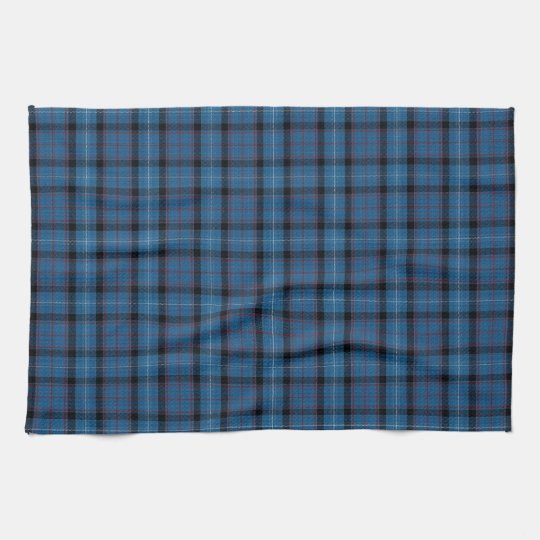 Fitzgerald Scottish Tartan Plaid Pattern Tea Towel