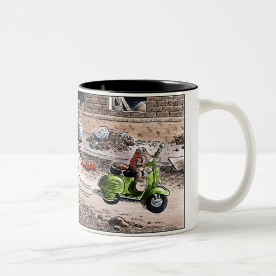 fitzgerald Two-Tone coffee mug