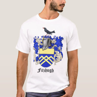 Fitzhugh Family Heraldry LARGE CREST T-Shirt